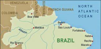 Brezilta Haritasi 1