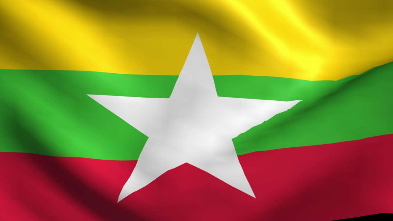 Remarkable, the myanmar burma flag agree with